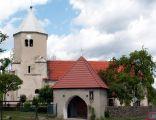 Kościół pw.św. Jerzego z XIV wieku w Mirocinie Górnym