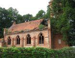 Ruiny kościóła ewangelickiego w Białutach