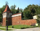 Rekonstrukcja baszty w Olkuszu