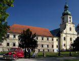 Kościół i zabudowania poklasztorne w Rudach Wielkich