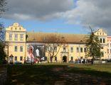 Pałac Biskupi przy ul. Franciszkańskiej w Krakowie.