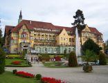 """Sanatorium """"Polonia"""" w Kudowie-Zdroju."""