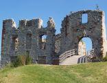 Zamek w Rabsztynie - wejście