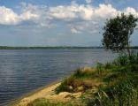 Jezioro Dzierżno Duże w Rzeczycach.