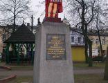 Pomnik św. Floriana w Praszce