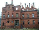 Ruiny sanatorium Grunwald w Sokołowsku