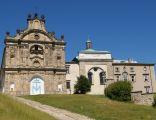 Klasztor na Świętym Krzyżu - od wschodu