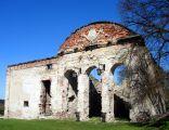 Ruiny pałacu w fortalicji Sobkowskich w Sobkowie