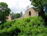 Ruiny zamku w Lanckoronie