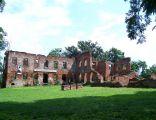 Łubowice: ruiny pałacu z 1786 roku