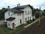 Dworzec kolejowy w Nakle Śląskim