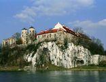 Klasztor w Tyńcu -widok zza Wisły