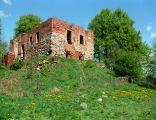 Nowy Jasiniec - ruiny zamku