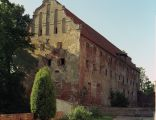 Pieniężno, pozostałości zamku