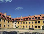 Węgorzewo - dziedziniec zamku krzyżackiego