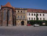 Wejście do zamku w Brzegu