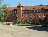 Zamek krzyżacki, obecnie siedziba sądu w Lęborku