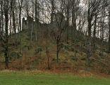 Zamek Niestyno w Płoninie