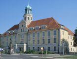 Zamek (obecnie Starostwo Powiatowe) w Wołowie