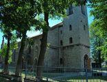 Neogotycki  kościół pw. Narodzenia NMP w Żyglinie