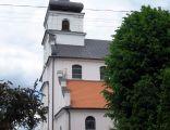 Kościół we wsi Jeżewo