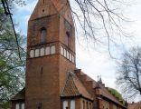 Kościół we wsi Zławieś Wielka