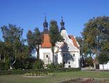 Kościół katolicki, późnobarokowy z lat 1778-1785 w Pogorzeli