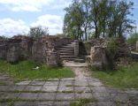Ruiny zamku - schody na wieże. Kostrzyn nad Odrą