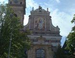 Klasztor oo. dominikanów w Tarnobrzegu. Elewacja frontowa - wschodnia