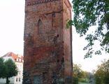 Braniewo, wieża bramna z kaplicą