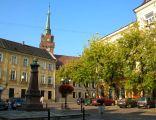 Plac Kazimierza Wielkiego w Tarnowie