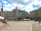 Wałbrzych - Rynek starego miasta.