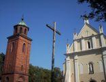 Kościół p.w. św. Wojciecha i dzwonnica w Białej Rawskiej