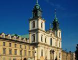 Bazylika Świętego Krzyża przy Krakowskim Przedmieściu w Warszawie.