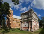 Domek loretański oraz kościół we wsi Gołąb