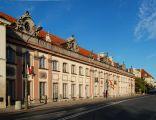 Pałac Branickich przy ulicy Miodowej w Warszawie