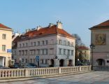 Rynek Mariensztacki w Warszawie -panorama