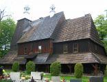 Kościół we wsi Grzawa