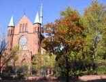 Wrocław, kościół św. Antoniego na Karłowicach, ul. Kasprowicza