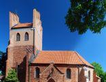 Kościół parafialny pw. św. Wojciecha z XIV we wsi Gorzędziej