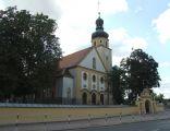 Kościół we wsi Siedlec