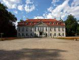 Pałac w Nieborowie, widok od strony parku