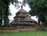 Cerkiew greckokatolicka pw. św. Dymitra Męczennika z 1701 w Łukawcu