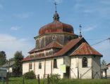 Cerkiew greckokatolicka pw. św. Mikołaja Cudotwórcy z 1925  w Wielkich Oczach