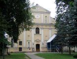 Kościół we wsi Wielkie Oczy.