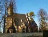 Centawa, Kościól pw. Narodzenia Najświętszej Maryi Panny, elewacja boczna