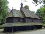 Pietrowice Wielkie, Kościół drewniany, odpustowy, pw. Świętego Krzyża, elewacja boczna