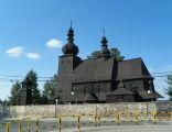 Mikołów-Paniowy, Drewniany kościół pw. śś.. Apostołów Piotra i Pawła, elewacja boczna